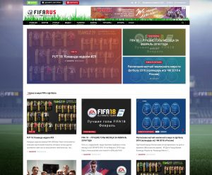 Сайт FIFARUS