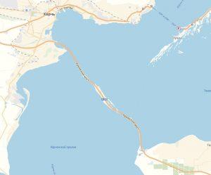 Крымский мост на Яндекс Картах